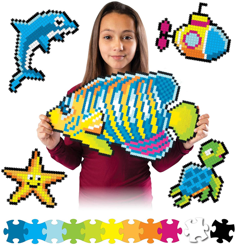 Jixelz Under The Sea 1500 Piece Puzzle