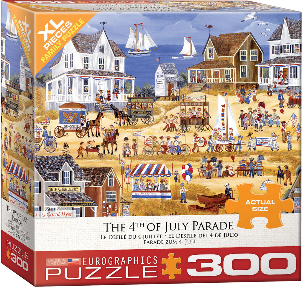 Eurographics July 4th Parade 300 Piece Jigsaw Puzzle