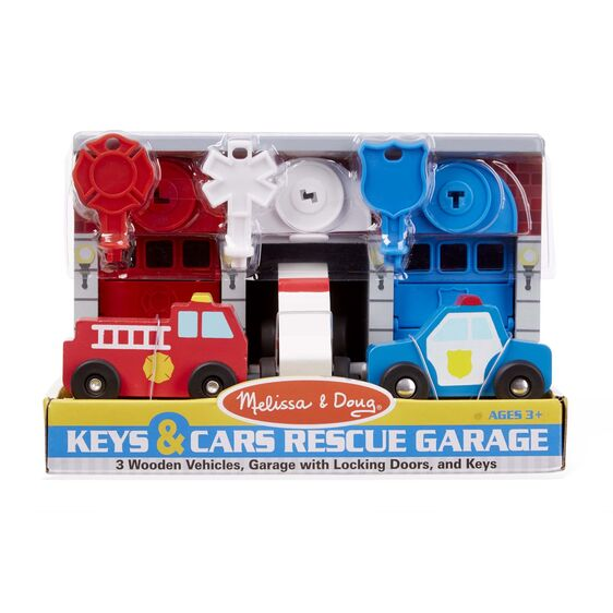 Keys and Cars Rescue Garage