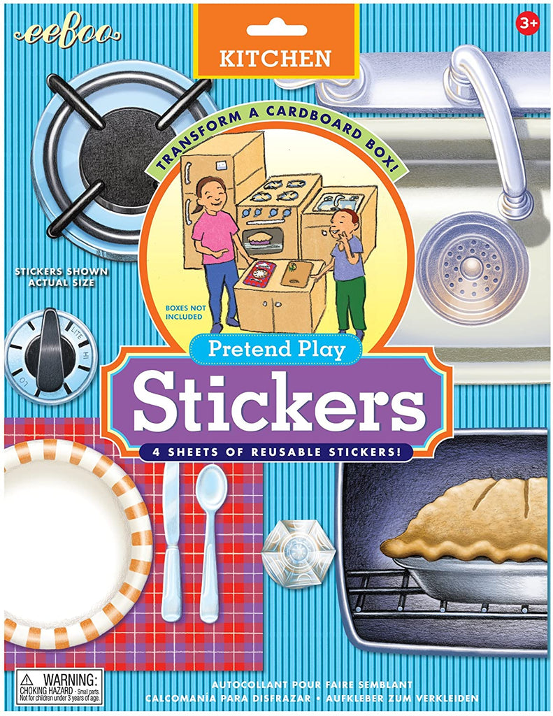 Kitchen Pretend Play Stickers