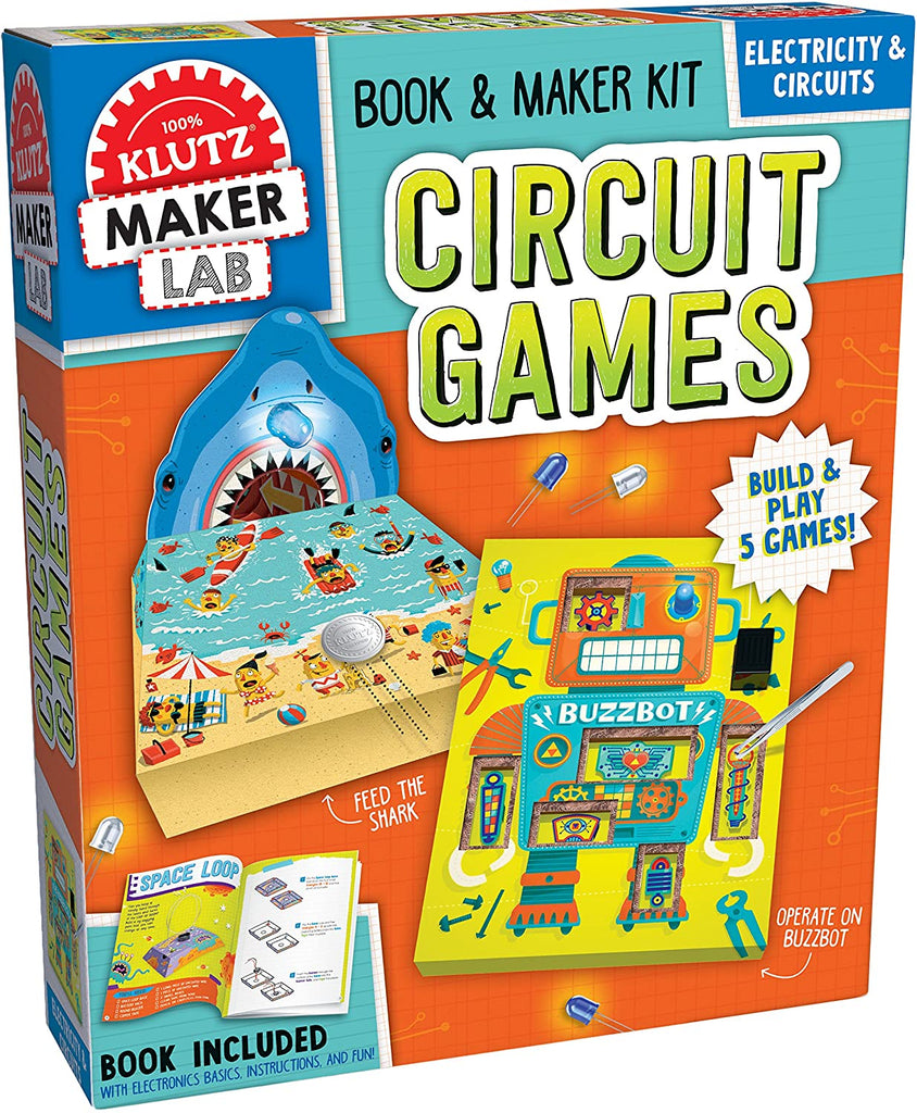 Klutz Maker Circuit Games