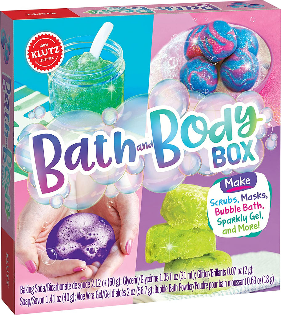 Klutz 821017 Bath and Body Box