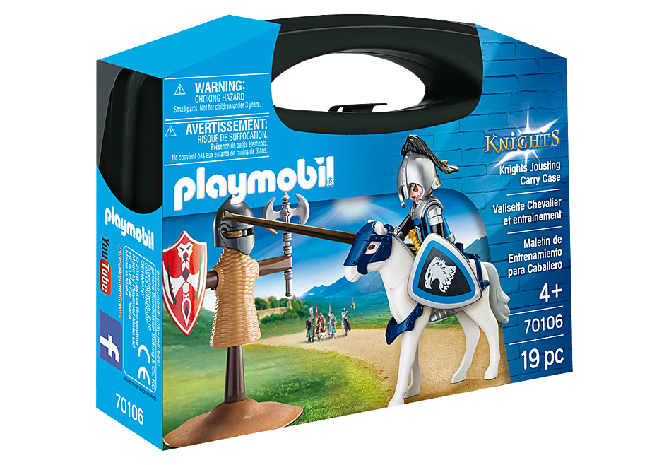 Playmobil 70106 Knights Jousting Carry Case