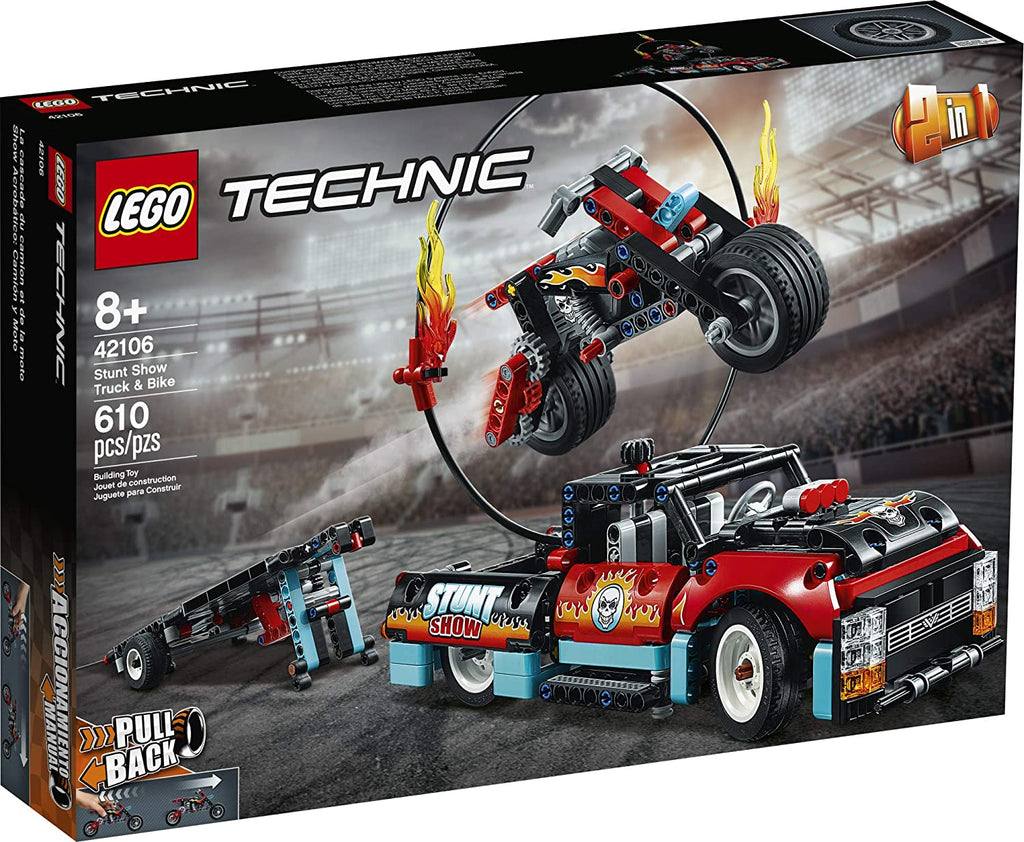 LEGO 42106 Stunt Show Truck and Bike