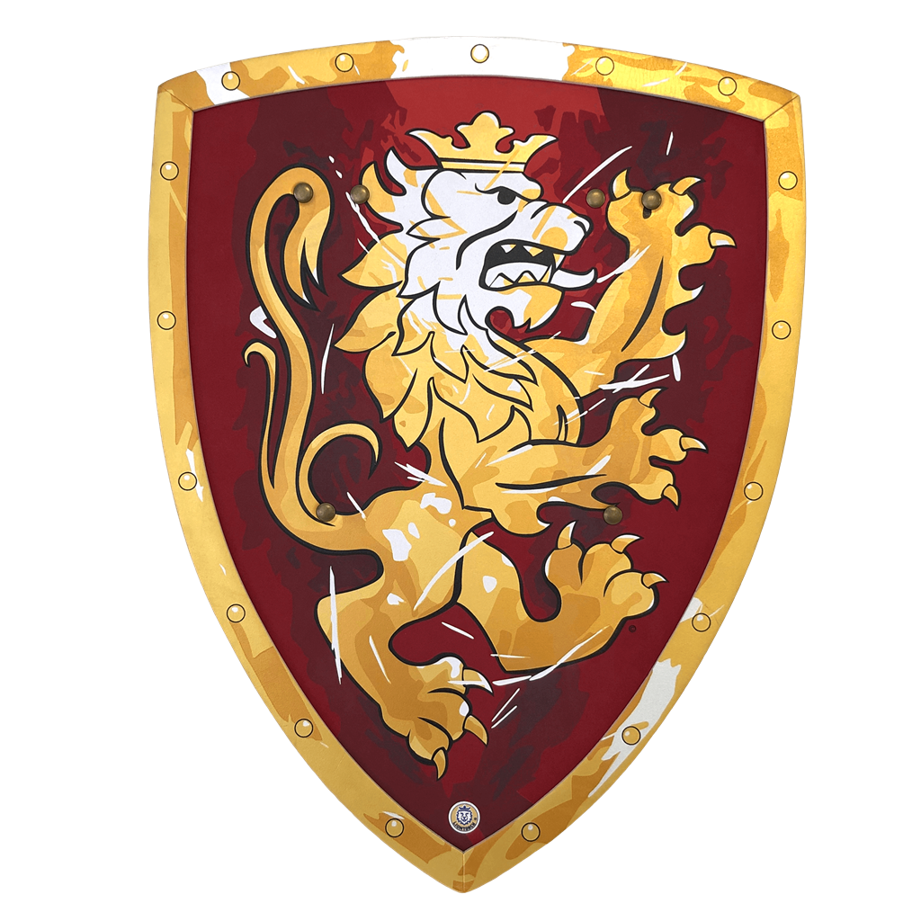 Lion Touch 11350 Red Noble Knight Shield