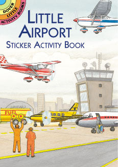 Little Airport Sticker Activity Book