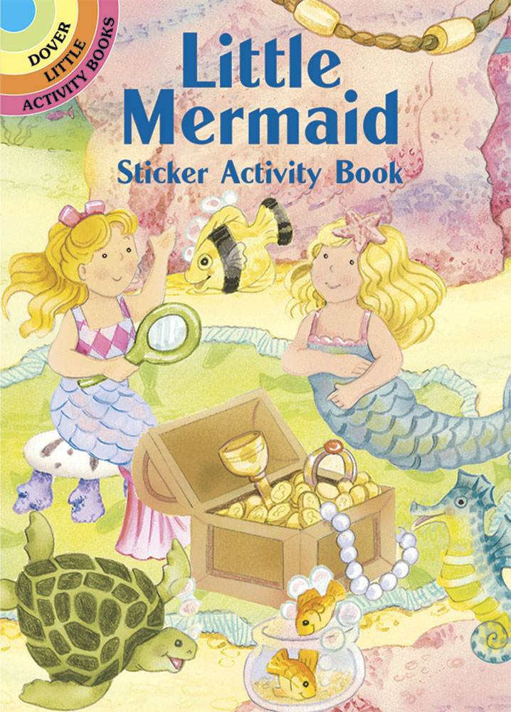 Little Mermaid Sticker Activity Book