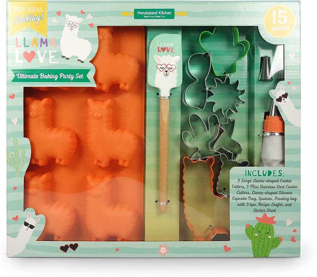 Llama Love Ultimate Baking Party Set