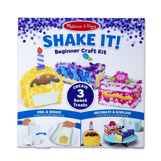 Shake It Deluxe Craft Kit Sweet Treats