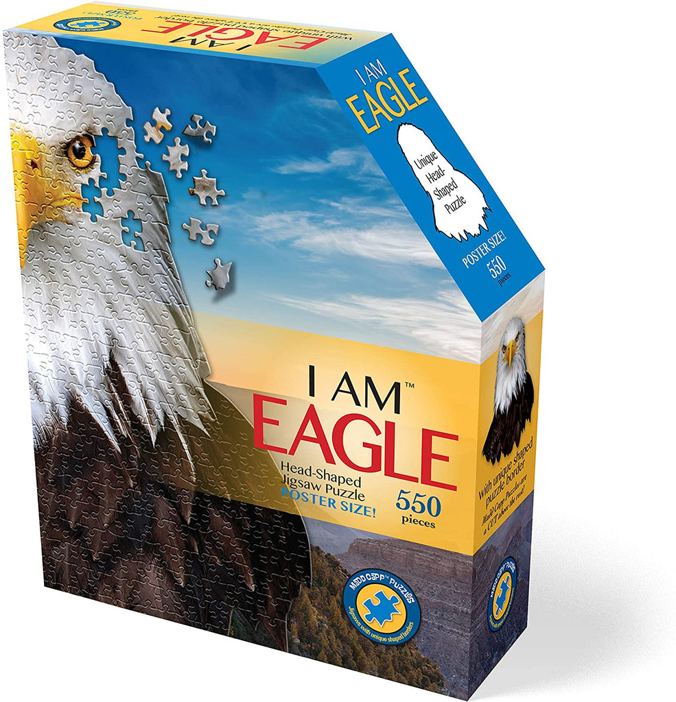 Madd Capp 550 Piece Eagle Shaped Puzzle