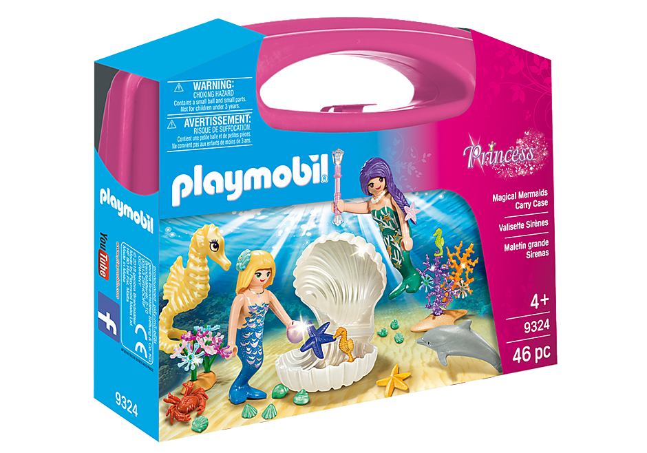 Playmobil 9324 Magic Mermaids Carry Case