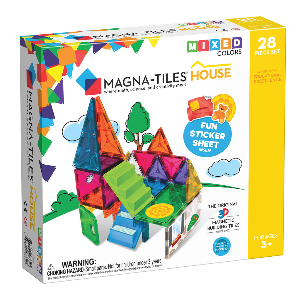 MagnaTiles House 28 Piece Building Set