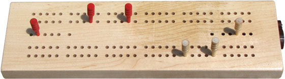 Wooden Cribbage Set