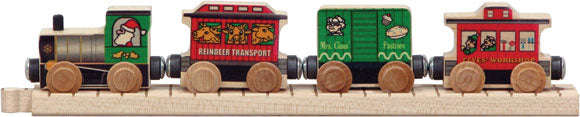 Santa Train Car Set