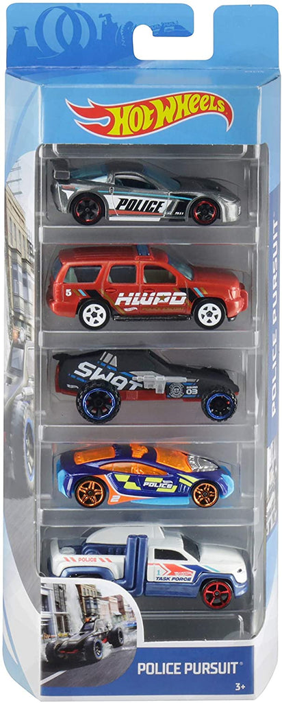 Mattel Hot Wheels 5 Car Assortment