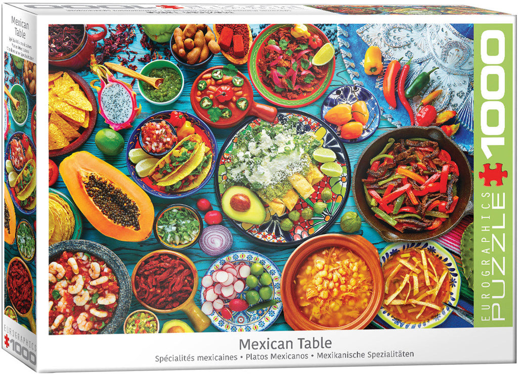 Eurographics Mexican Table 1000 Piece Jigsaw Puzzle