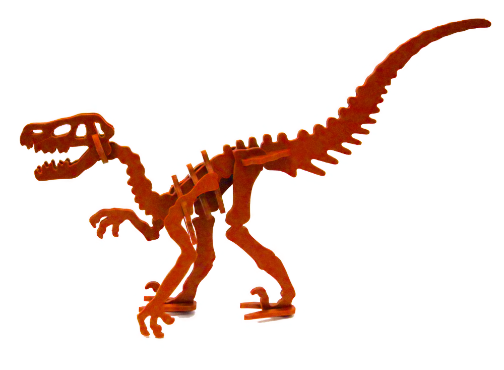 BY Pets Veociraptor Mini 3D Puzzle