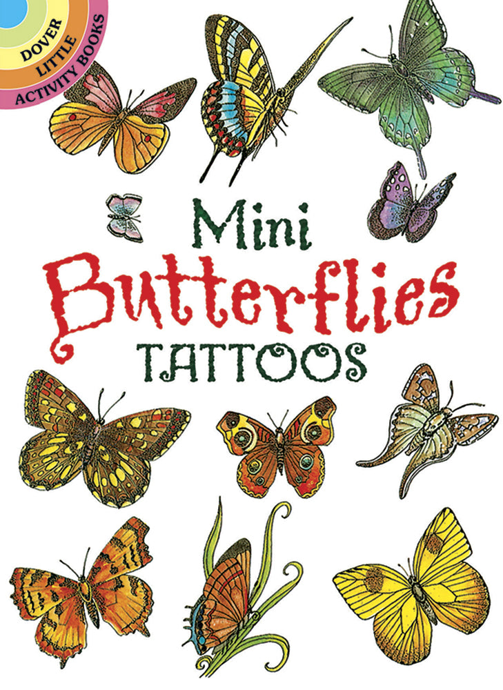 Mini Butterfly Tattoos