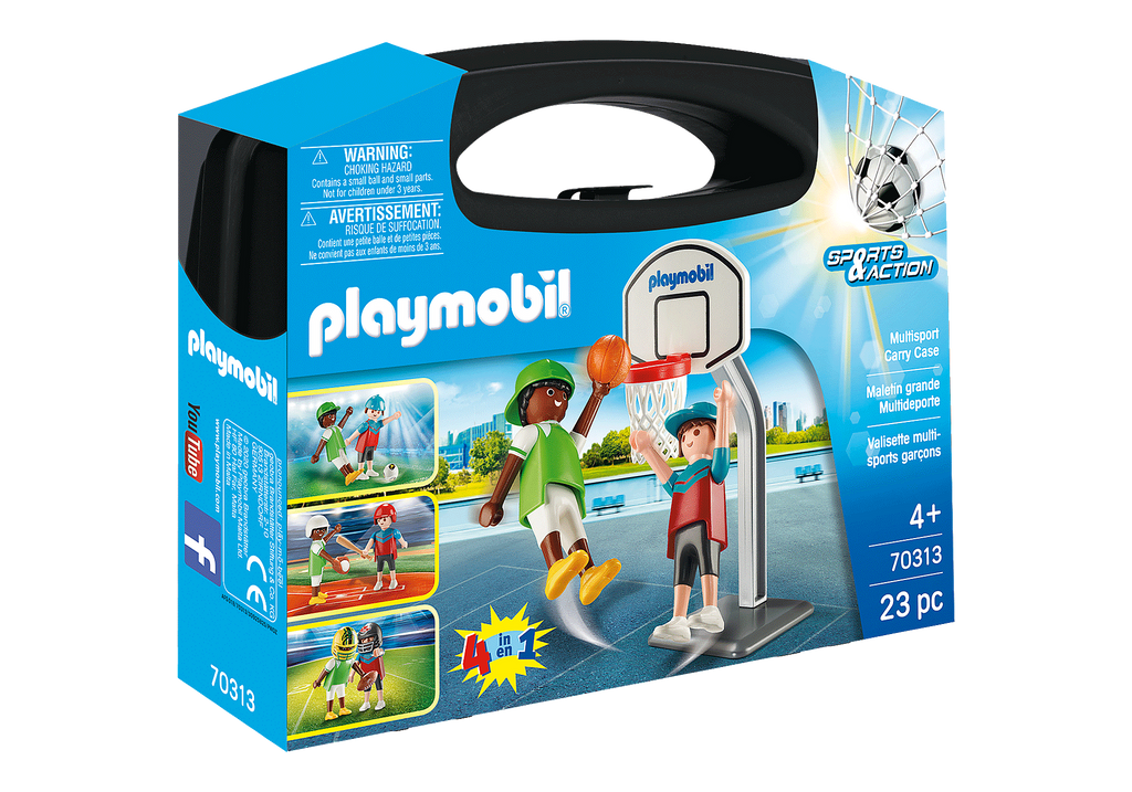 Playmobil 70313 Multisport Carry Case