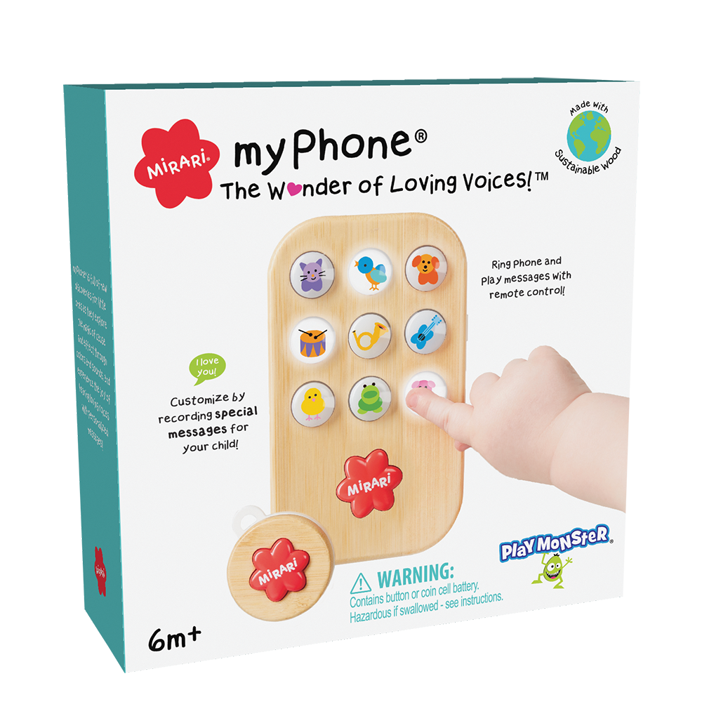 Myphone Toddler Pretend Phone