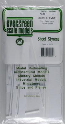 Evergreen 9002 Styrene Odds Ends