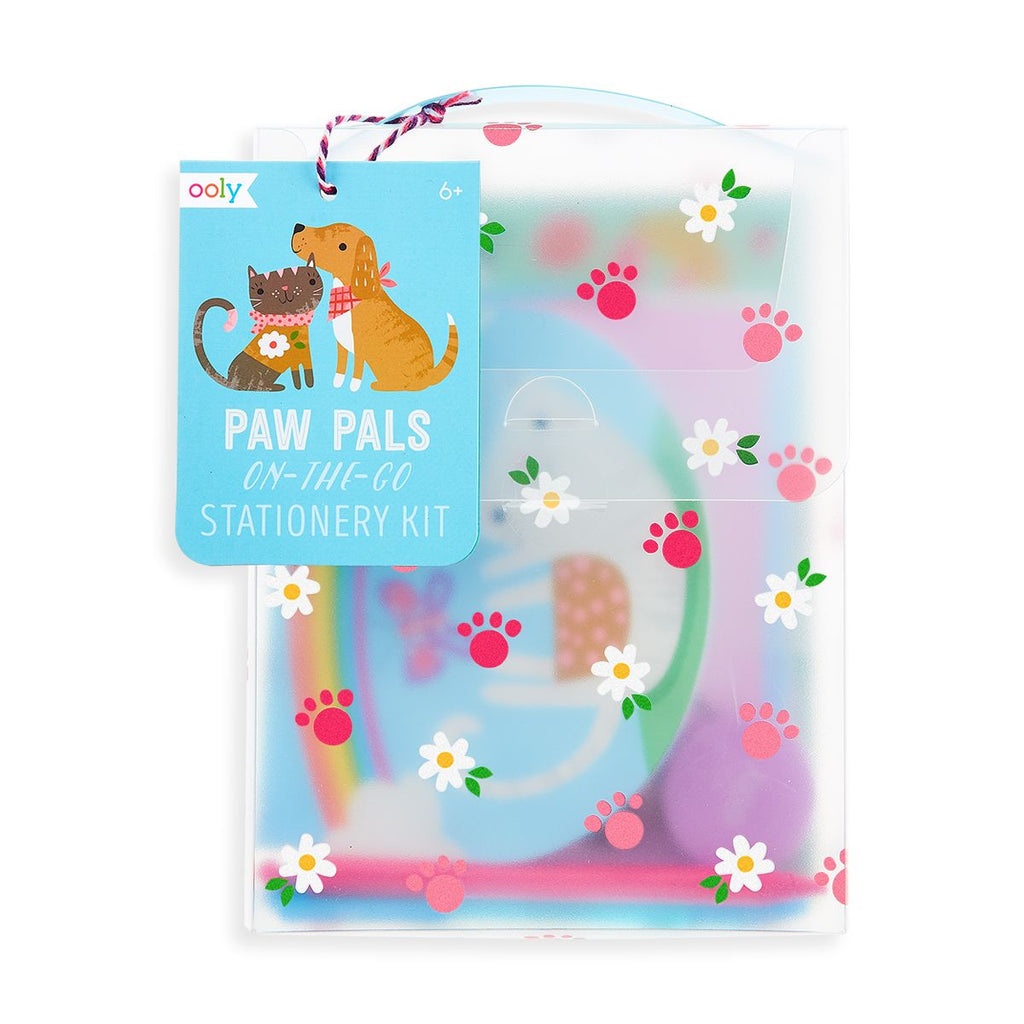 Ooly Paw Pals On The Go Stationery Kit