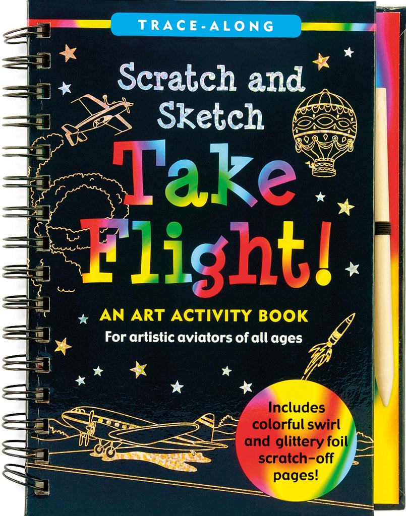 Take Flight Scratch and Sketch