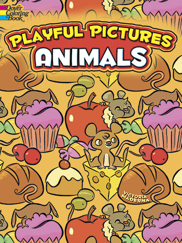 Playful Pictures Animals Coloring Book