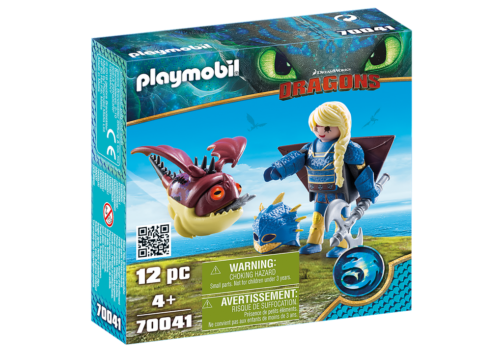 Playmobil 70041 Astrid with Hobgobbler
