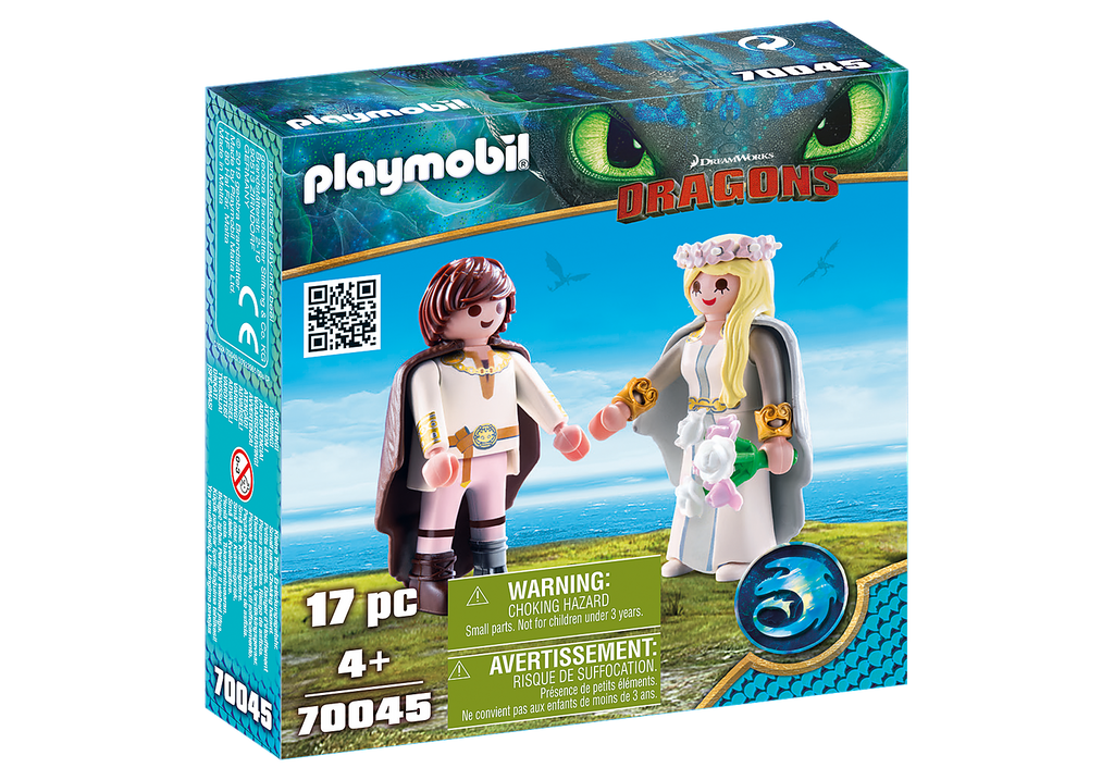 Playmobil 70045 Astrid and Hiccup