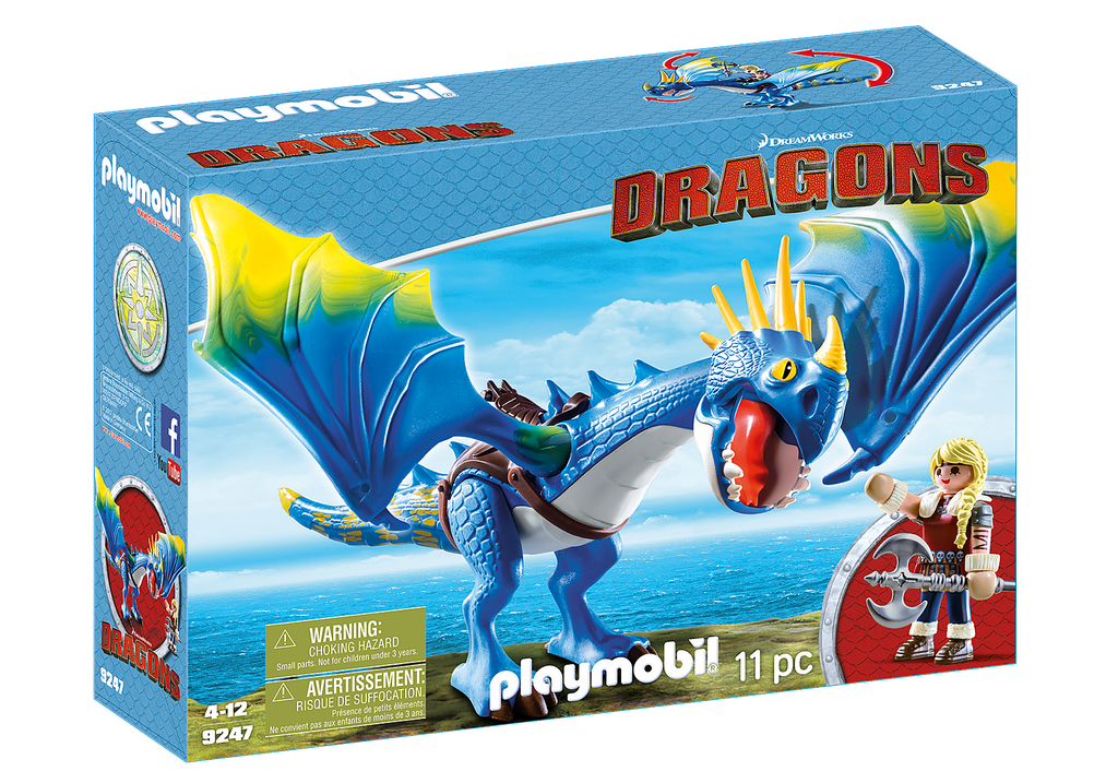 Playmobil 9247 Astrid and Stormfly Dragons