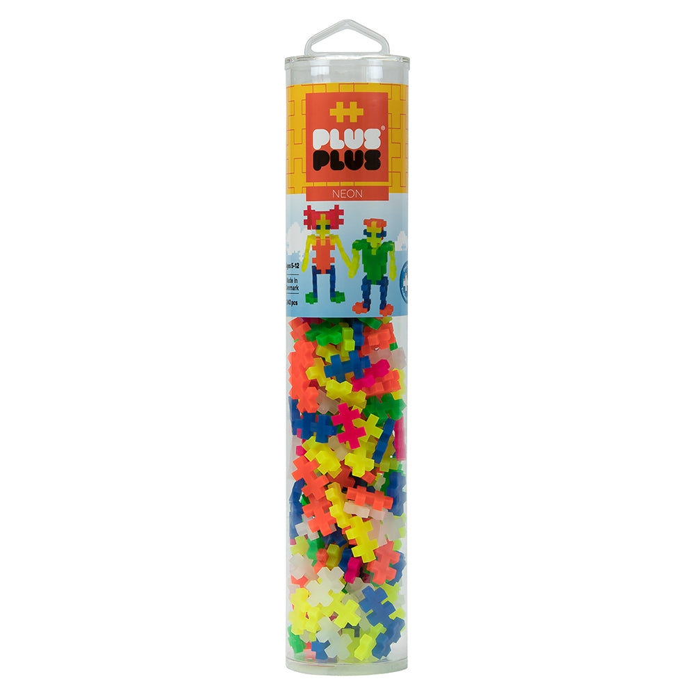 Plus Plus Neon 240 Piece Tube