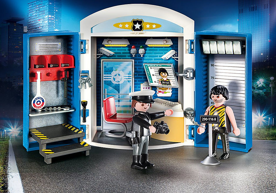 Playmobil 9111 Police Station Play Box