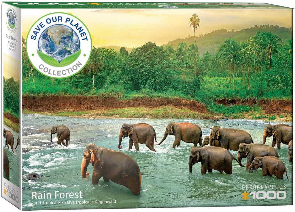 Eurographics Rain Forest 1000 Piece Jigsaw Puzzle