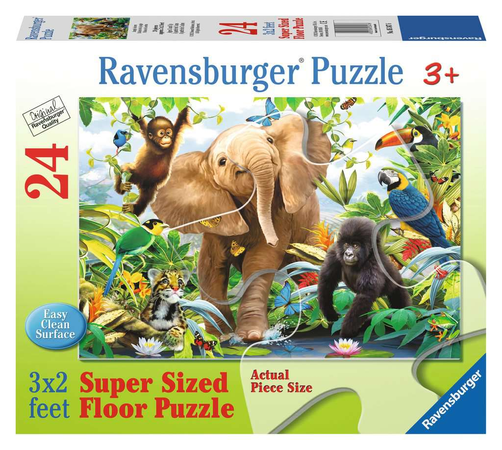 Jungle Juniors 24 Piece Kids Jigsaw Puzzle