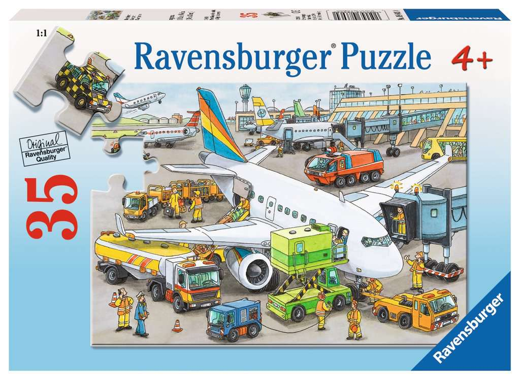 Busy Airport 35 Piece Kids Jigsaw Puzzle