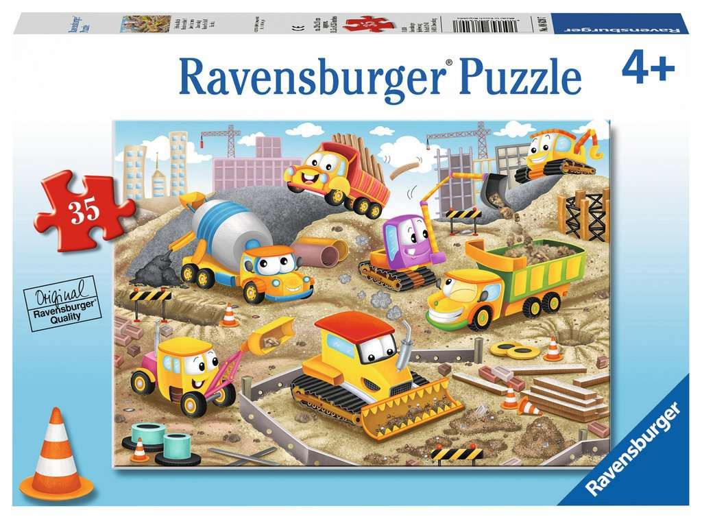 Raise the Roof 35 Piece Jigsaw Puzzle