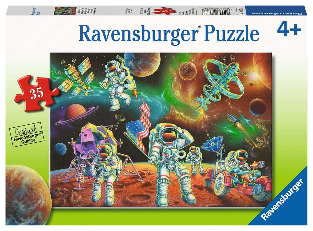 Moon Landing 35 Piece Kids Jigsaw Puzzle