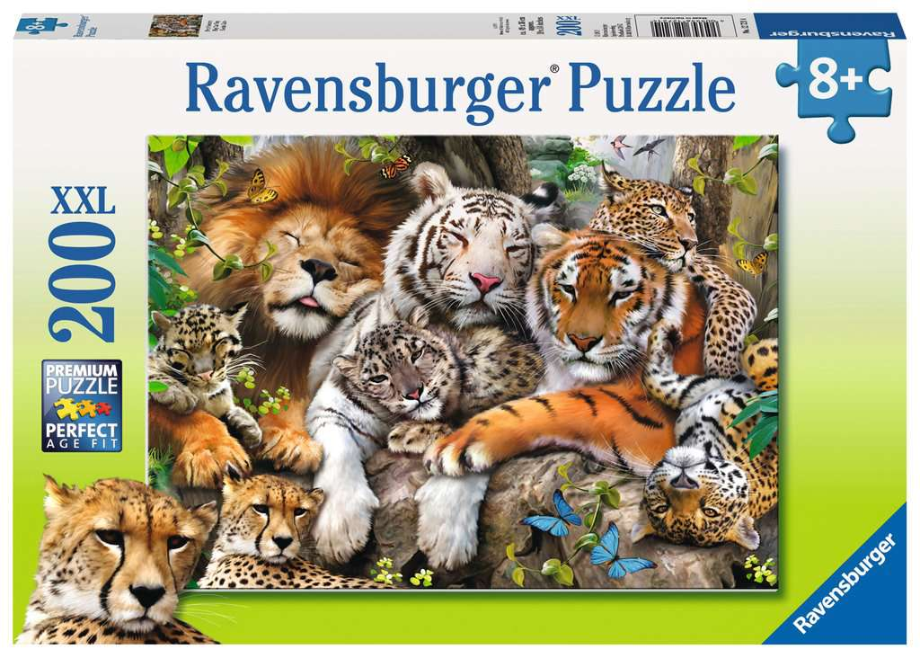 Big Cat Nap 200 Piece Jigsaw Puzzle