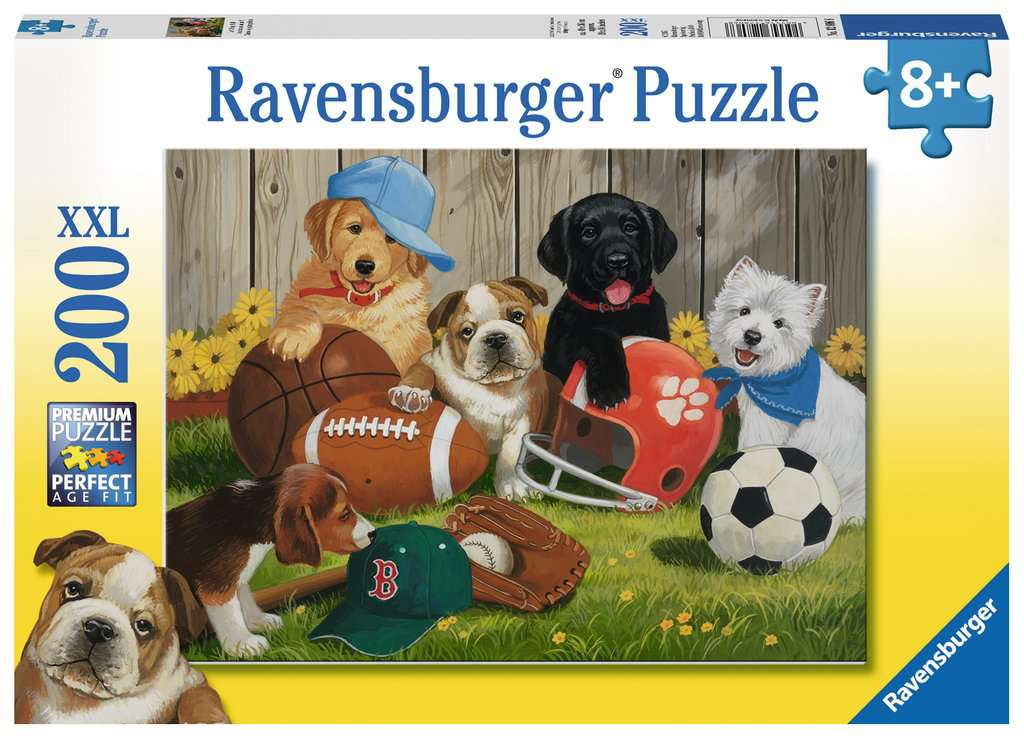 Lets Play Ball 200 Piece Jigsaw Puzzle