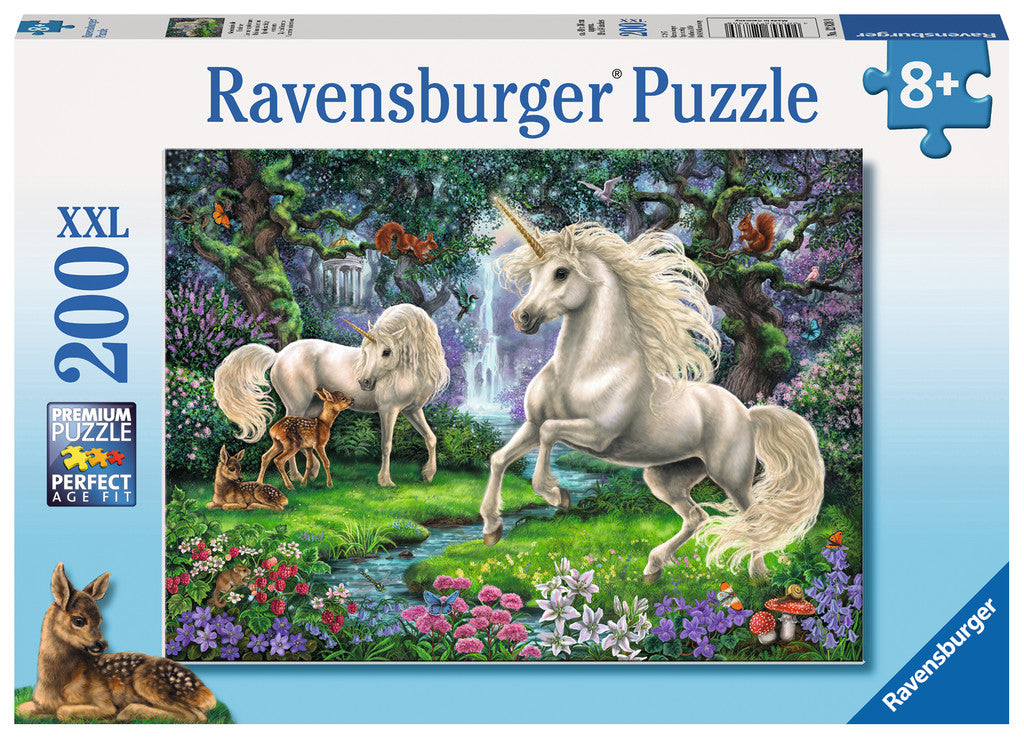 Mystical Unicorns 200 Piece Jigsaw Puzzle