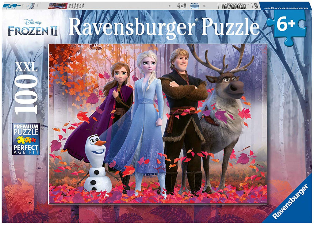 Frozen 2 Magic of the Forest 100 Piece Kids Jigsaw Puzzle