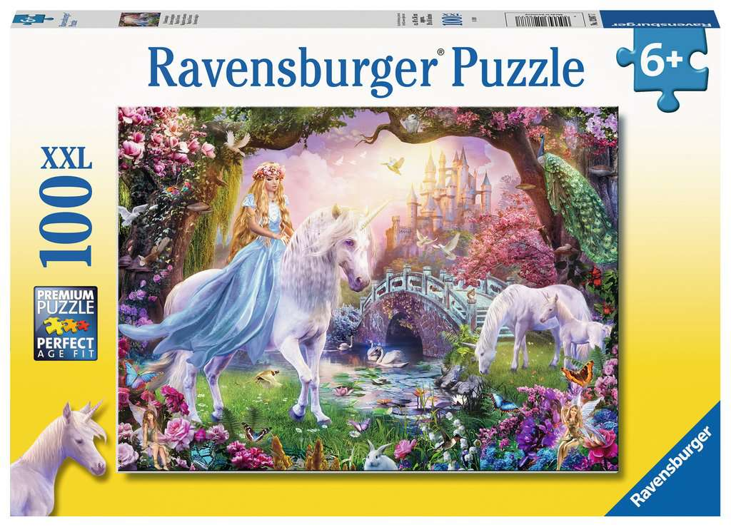 Magical Unicorn 100 Piece Jigsaw Puzzle