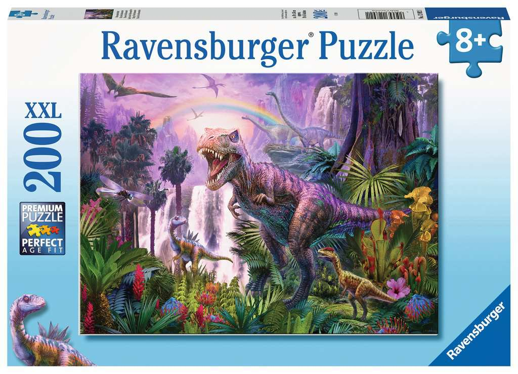 King of The Dinosaurs 200 Piece Jigsaw Puzzle