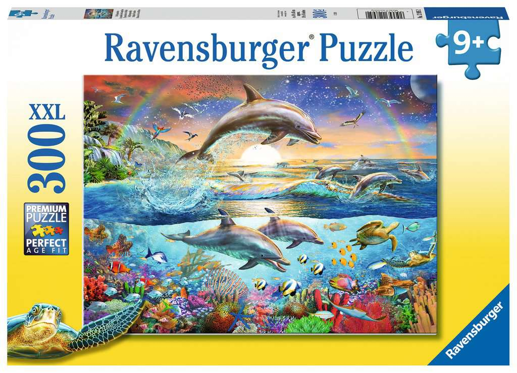 Dolphin Paradise 300 Piece Jigsaw Puzzle