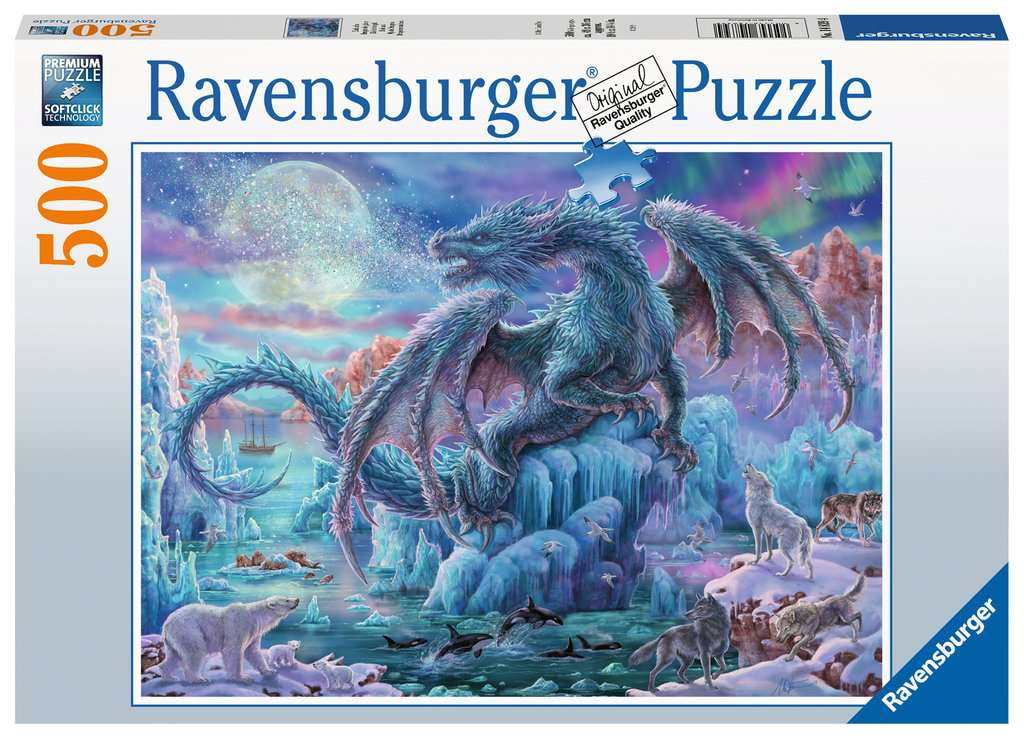 Mystic Dragons 500 Piece Jigsaw Puzzle