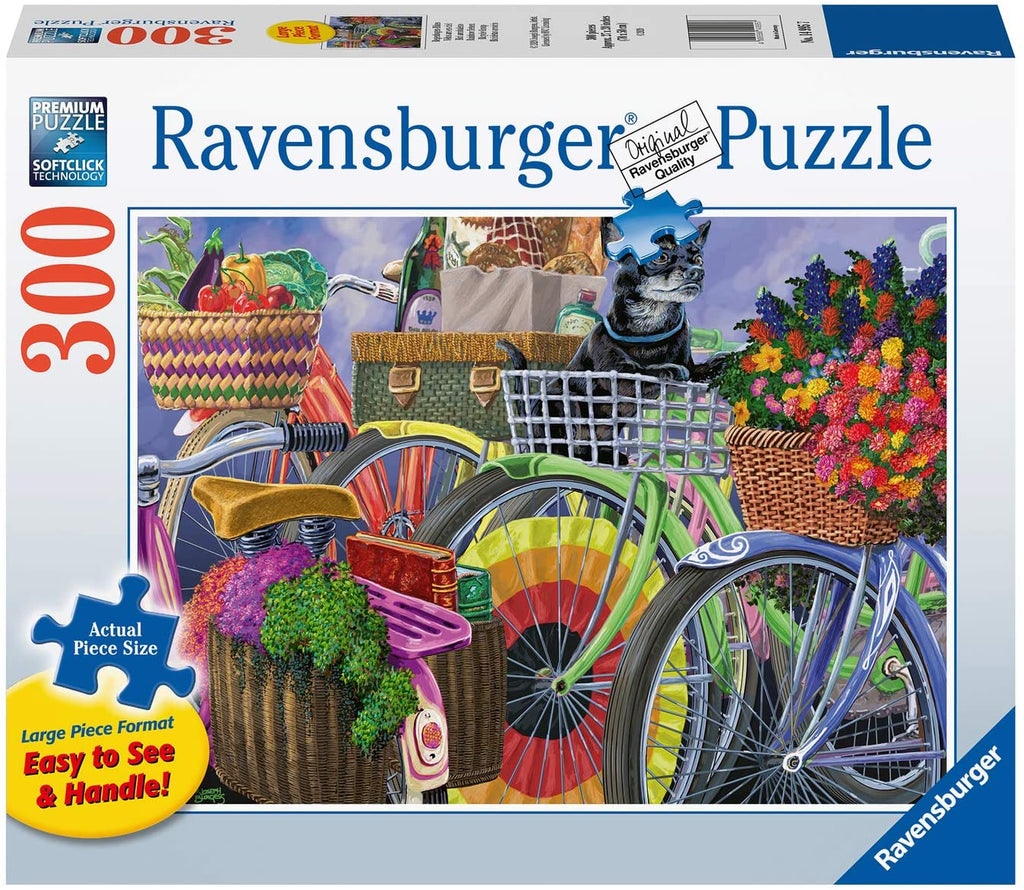 Bicycle Group 300 Piece Large Format Jigsaw Puzzle