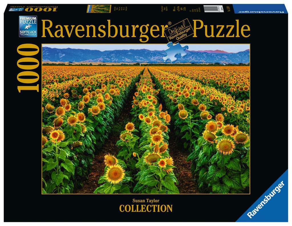 Fields of Gold 1000 Piece Jigsaw Puzzle