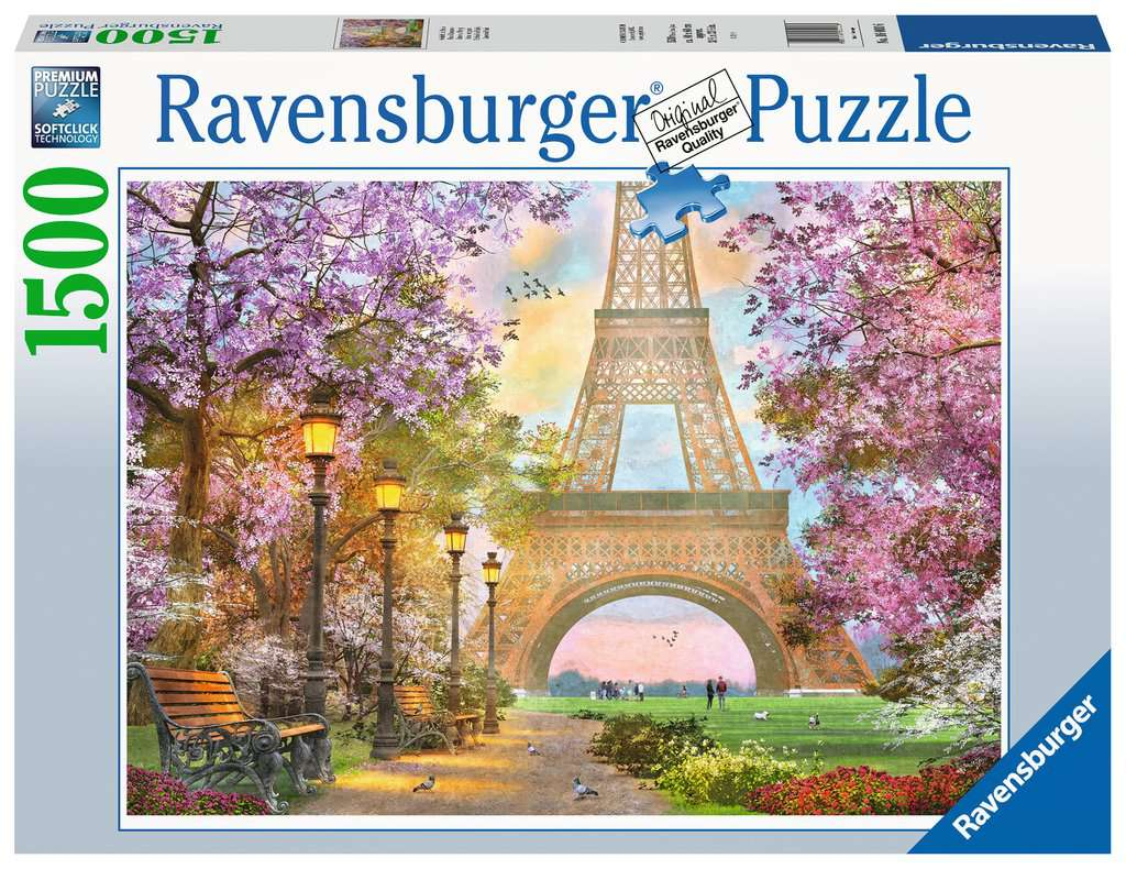 Paris Romance 1500 Piece Jigsaw Puzzle
