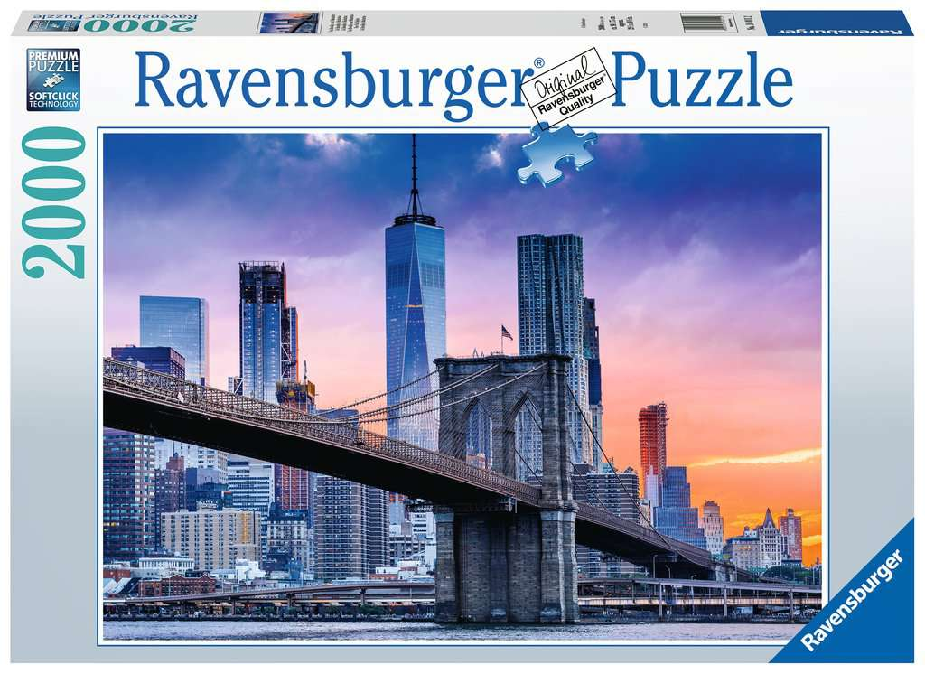 New York Skyline 2000 Piece Jigsaw Puzzle